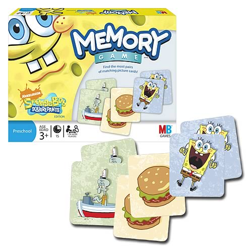 SpongeBob SquarePants Memory Game