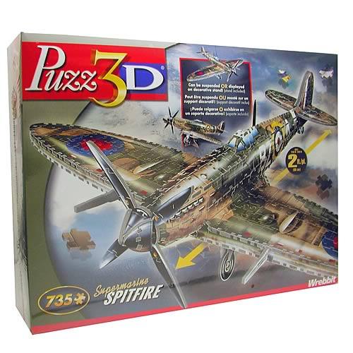 Puzz 3D Spitfire Puzzle