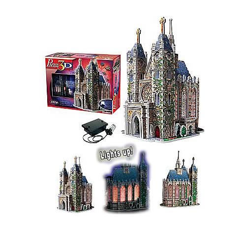 Puzz 3D Lighted Church Puzzle