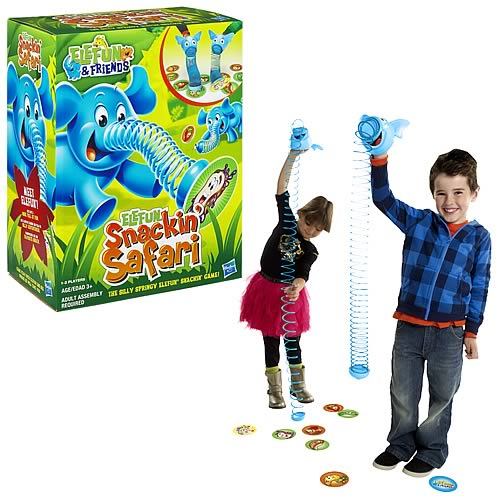 Elefun Snackin Safari Game
