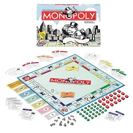 Monopoly Game, Not Mint