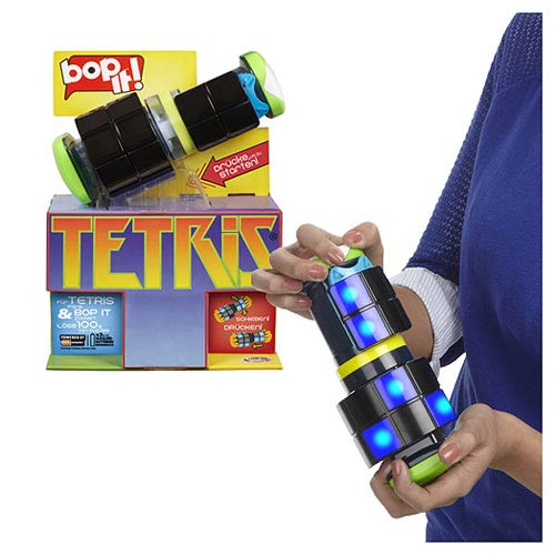 Bop-It Tetris Game