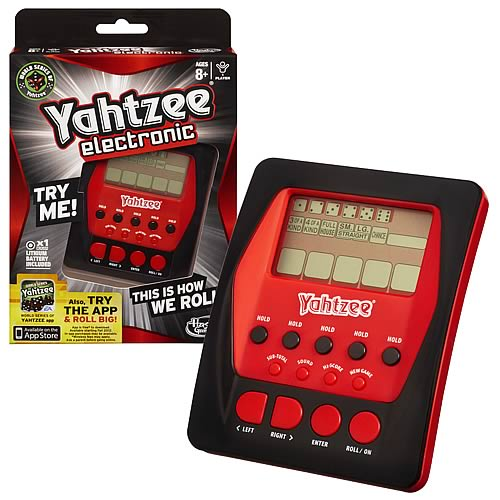 6 dice yahtzee games handheld computers