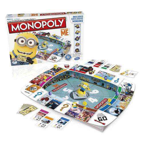 Despicable Me 2 Monopoly Game