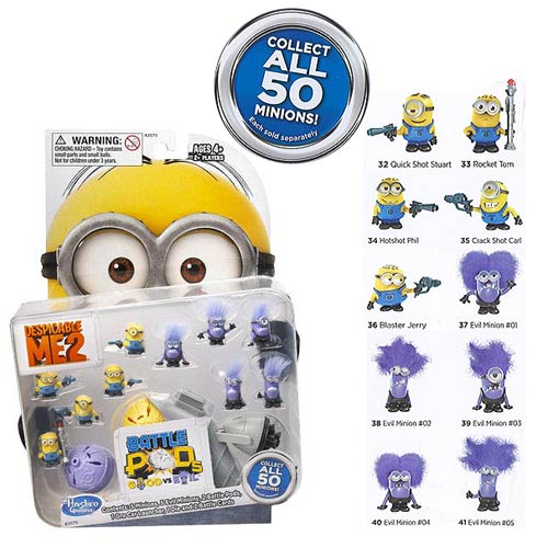 Despicable Me 2 Minion Battle Pods Mini-Figure 10-Pack