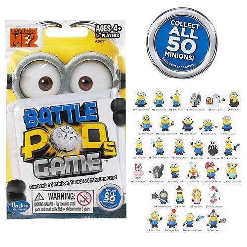 Despicable Me 2 Minion Battle Pods Mini-Figure Blind Bags