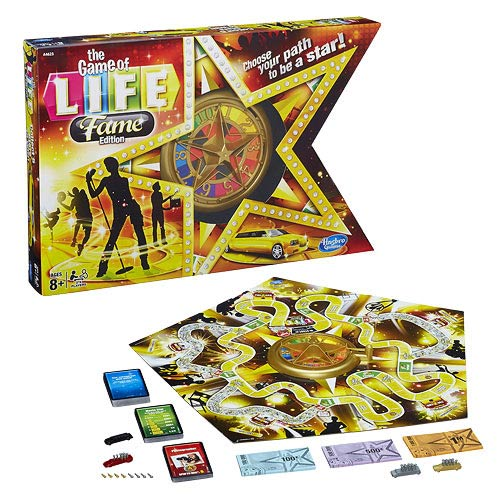 The Game of Life Fame Edition Game
