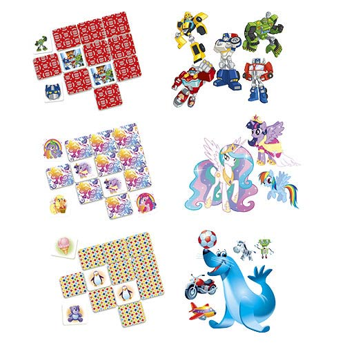 Memory Game Licensed Assortment Case