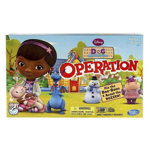 Doc McStuffins Operation Game