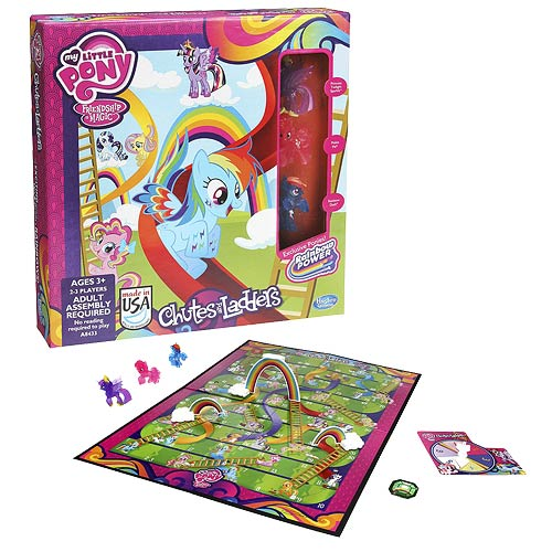 My Little Pony Friendship Is Magic Chutes and Ladders Game