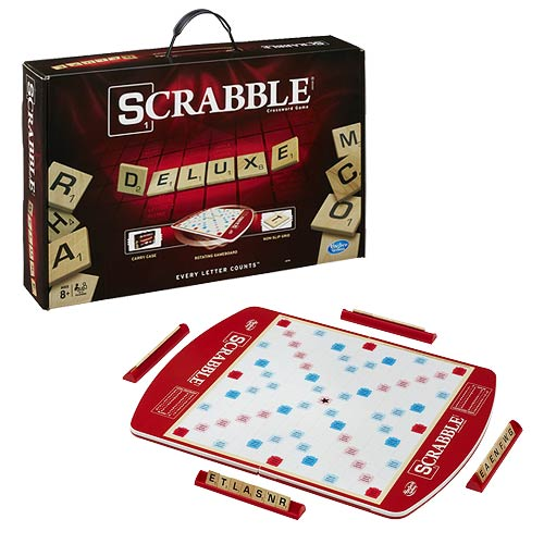 Scrabble Deluxe Crossword Game