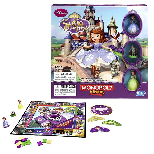 Sofia the First Monopoly Jr. Game