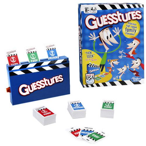 Guesstures Game - Hasbro Games - Games - Games at ...