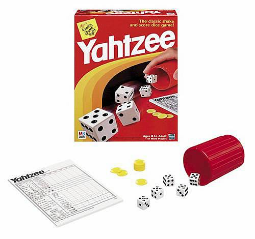 Yahtzee Game, Not Mint