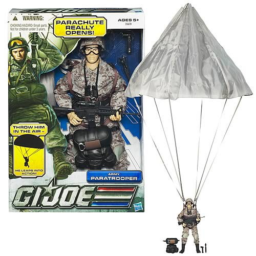 G.I. Joe Ultimate 12-inch Paratrooper Action Figure