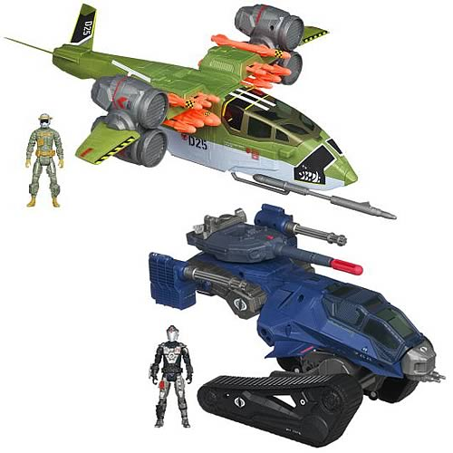 G.I. Joe Retaliation Delta Vehicles Wave 1 Case