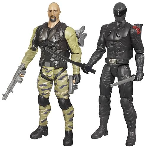 G.I. Joe Retaliation 10-Inch Ninja Commando Figures Wave 1