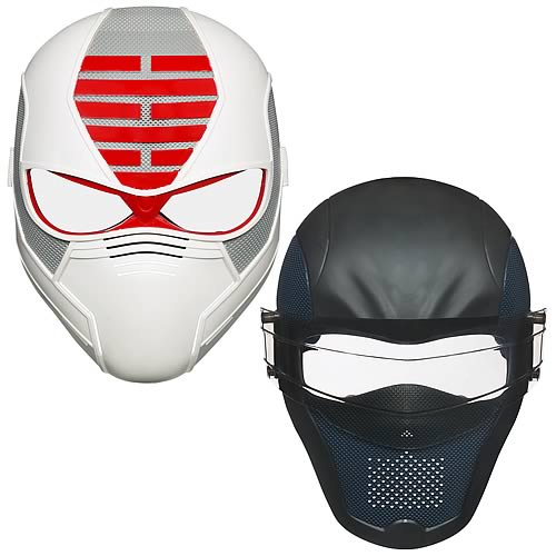 G.I. Joe Retaliation Masks Wave 1 Set