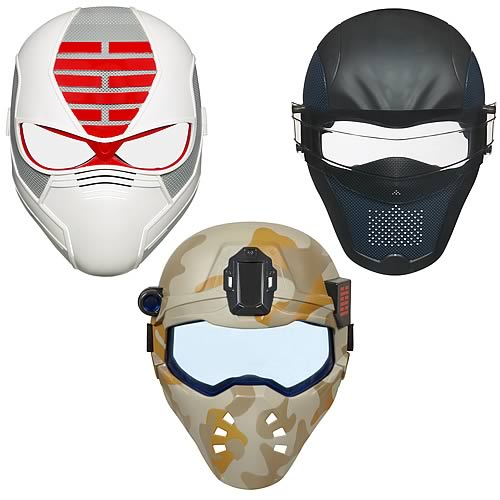 G.I. Joe Retaliation Masks Wave 2 Set