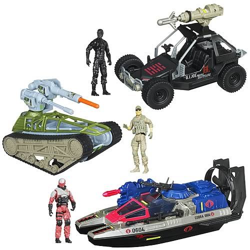G.I. Joe Retaliation Bravo Vehicles Wave 2