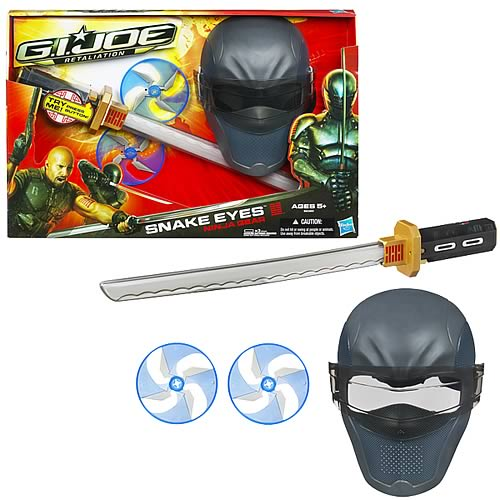 G.I. Joe Snake Eyes Ninja Gear Set