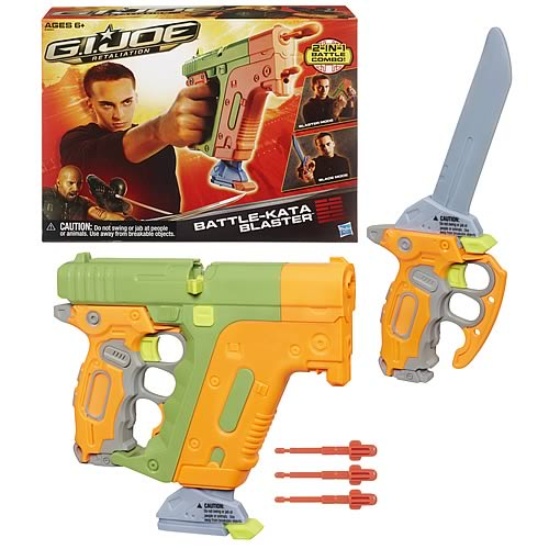 G.I. Joe Retailiation Battle-Kata Blaster