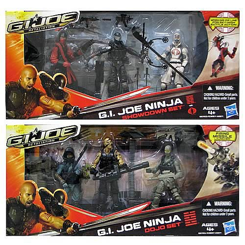 G.I. Joe Retaliation Showdown Action Figures Wave 1