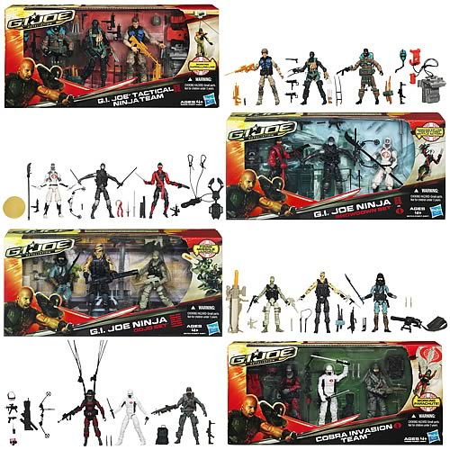 G.I. Joe Retaliation Showdown Action Figures Wave 2
