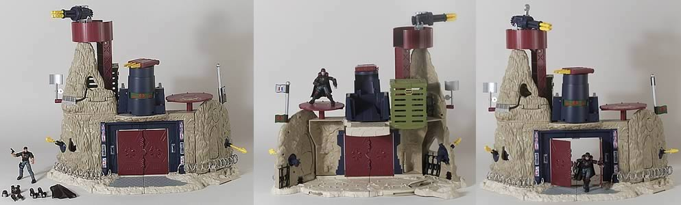 GI Joe Cobra Mountain Playset