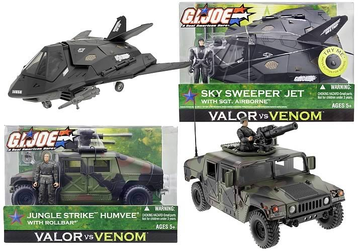 2004 Valor vs Venom Vehicle Assortment 2