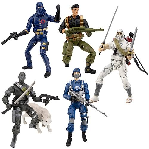 G.I. Joe 25th Anniversary Action Figures Wave 1