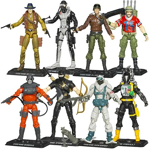 G.I. Joe 25th Anniversary Action Figures Wave 9 Revision 1