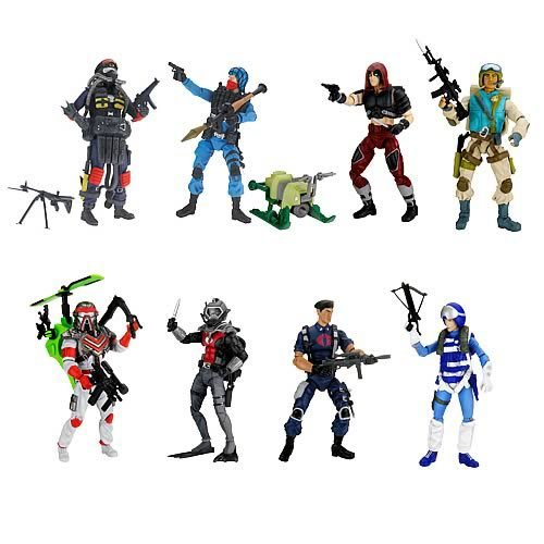 G.I. Joe 25th Anniversary Action Figures Wave 11