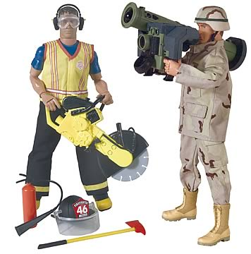 Army Anti-Tank Gunner & Saw Extraction Firefighter