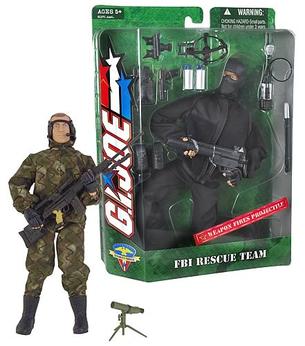 Airforce Special Forces & FBI Rescue Team Set