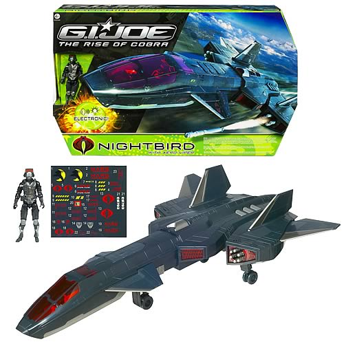 G.I. Joe Movie Night Raven Vehicle with Air-Viper Figure