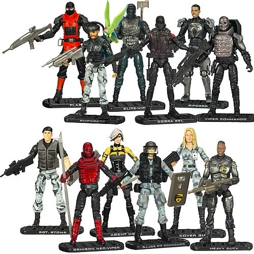 G.I. Joe Movie Action Figures Collection 2 Wave 2 Revision 1