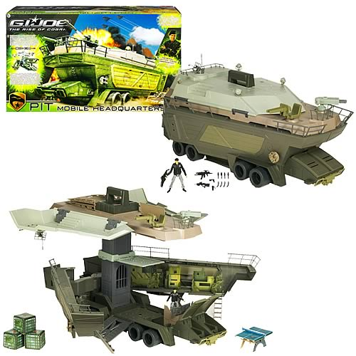 G.I. Joe Movie Pit Mobile Headquarters Playset