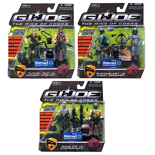 G.I. Joe Rise of Cobra Offscreen Exclusive Action Figure Set