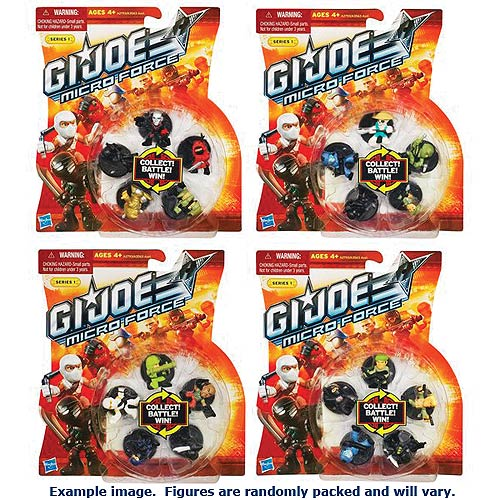 G.I. Joe Micro Force Starter Packs Series 1 Wave 1 4-Pack