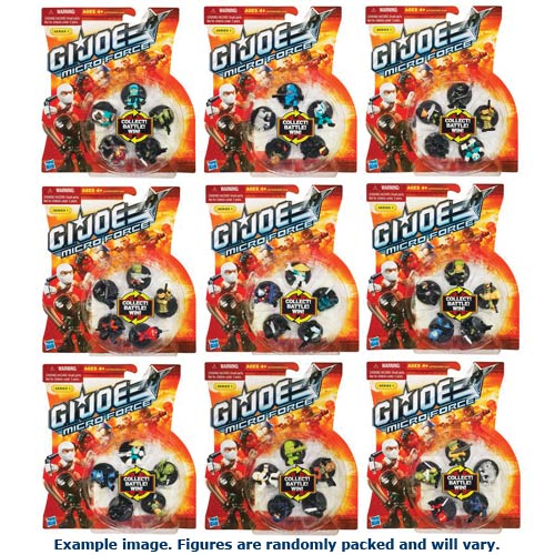 G.I. Joe Micro Force Starter Packs Series 1 Wave 1 Case