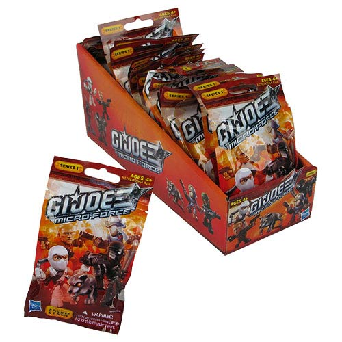 G.I. Joe Micro Force Blind Bags Series 1 Revision 1 Case