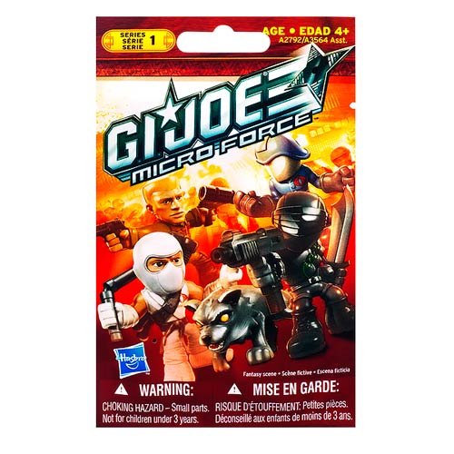 G.I. Joe Micro Force Blind Bags Series 1 6-Pack