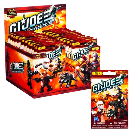 G.I. Joe Micro Force Blind Bags Series 1 Case