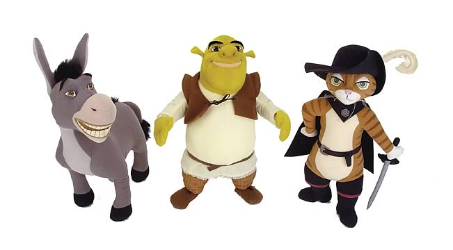 Shrek 2 Talking Plush Pals Ast. 1