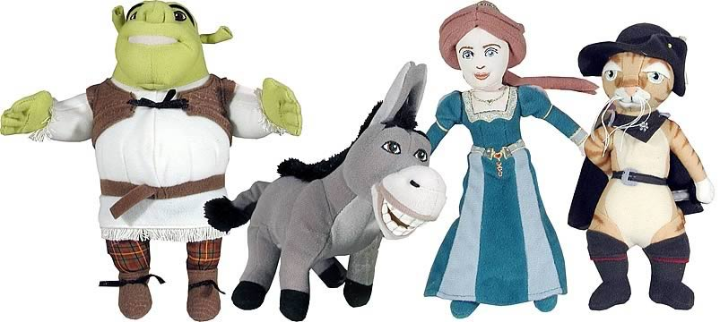 Shrek 2 Collectible Character Ast. 1 Set