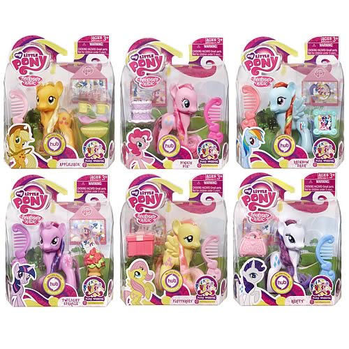 My Little Pony with Pet Figures Wave 7 Set
