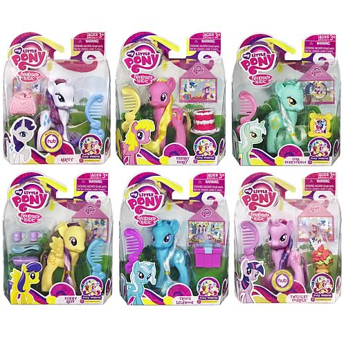 My Little Pony with Pet Figures Wave 8 Set