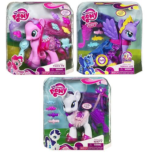 My Little Pony Fashion Ponies Wave 5 Revision 1