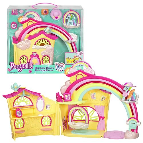 Little Pony Ponyville Playsets Rainbow Dash House